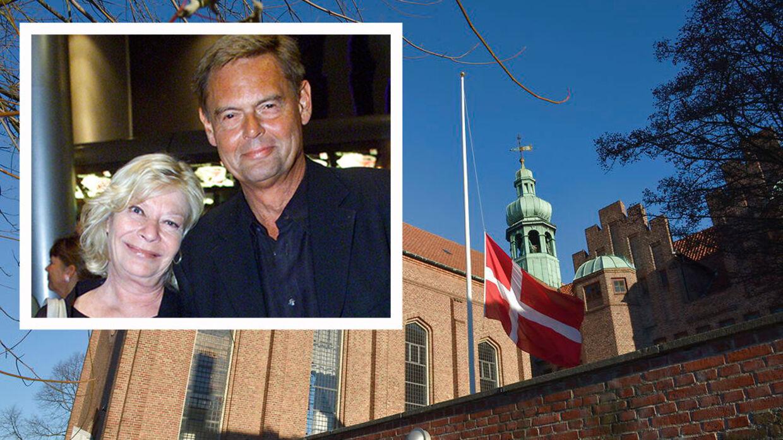 Ulf Pilgaard tager i dag afsked med sin kone.