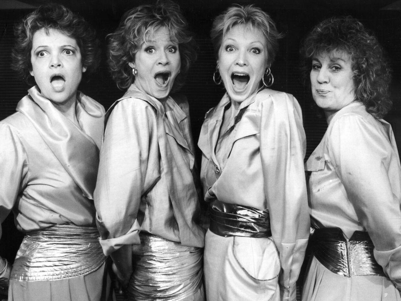 Kvindekvartetten 'Byens Bedste Bryster' med Terese Damsholt, Lisbeth Lundquist, Kirsten Peuliche og Margrethe Koytu var en kæmpesucces i Danmark i de sene 80'ere.