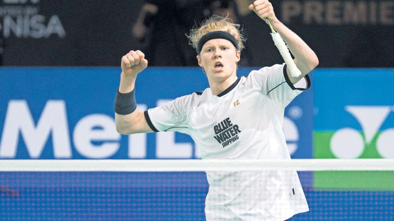 Danmarks nye badmintonkomét Jeg skal v¦re den bedste i verden