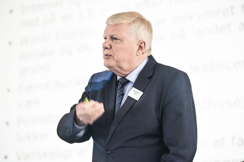 Ældre Sagens direktør, Bjarne Hastrup, vil have regeringen til at finde flere penge til ældreområdet. Scanpix/Niels Ahlmann Olesen
