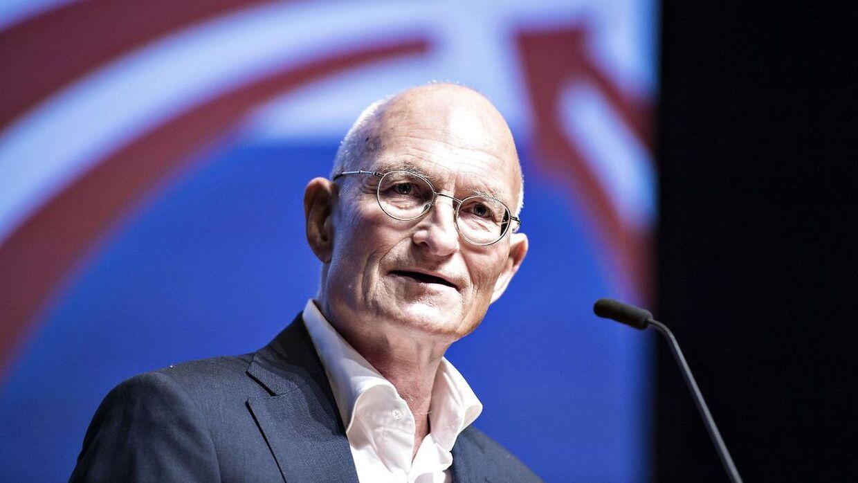 Den Korte Avis' chefredaktør Ralf Pittelkow. var gæstetaler ved Dansk Folkeparti årsmøde.