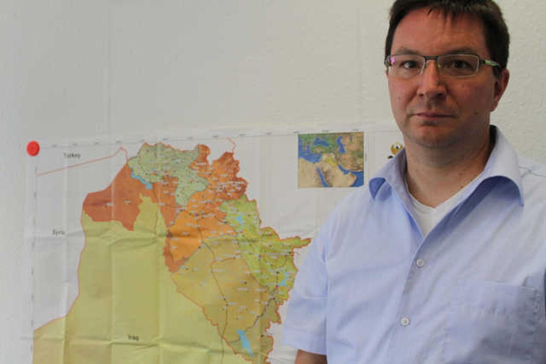 Michael Blume behandler yazidi-kvinder i Tyskland. Kvinderne er for langt de flestes vedkommende blevet voldtaget, vurderer Blume.