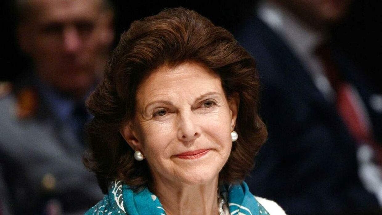 Sveriges dronning Silvia.