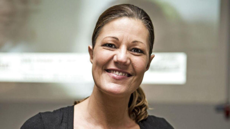 Mette Blomsterberg stopper som dommer i 'Den store bagedyst' efter fem sæsoner. Her er hun fotograferet i 2014.