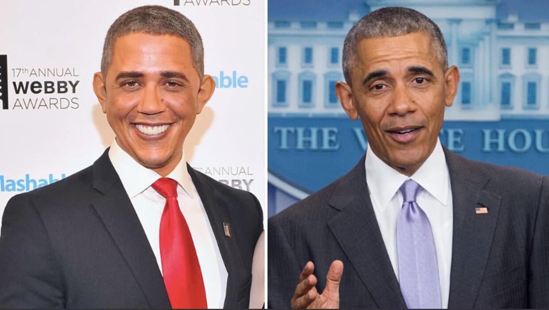 Reggie Brown - Barack Obama.
