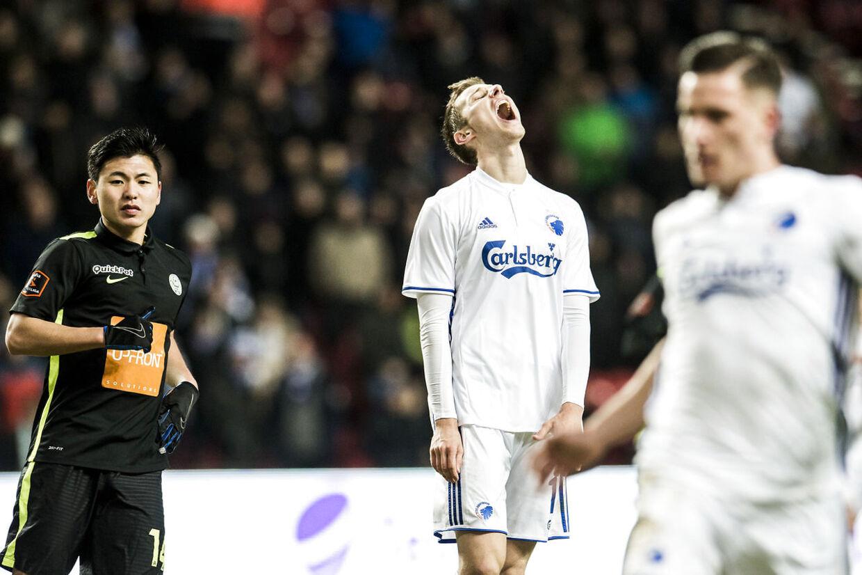 FCK tager imod Viborg FF i Parken i 19. runde af Superligaen d. 29. november 2016. (Foto: Ólafur Steinar Gestsson/Scanpix 2016)