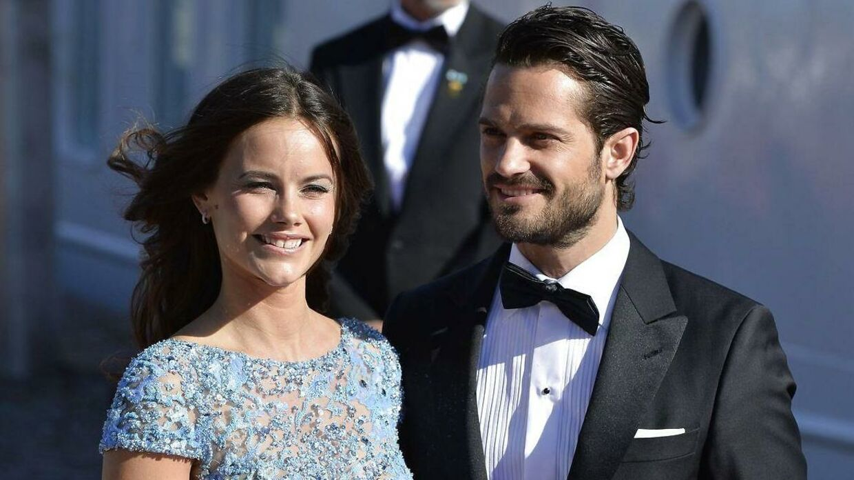 Prinsesse Sofia og prins Carl Philip.