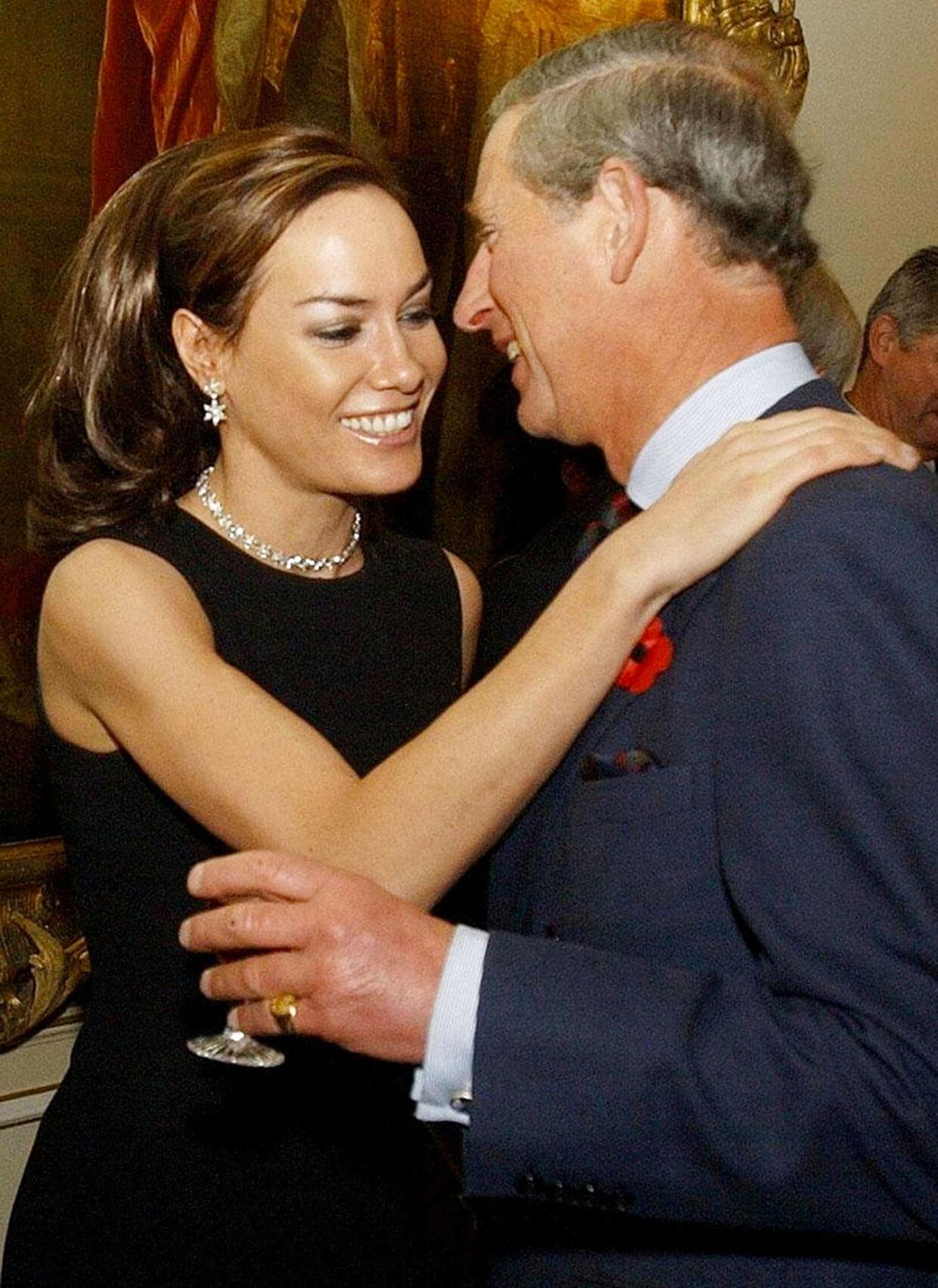 Prins Charles og Tara Palmer Tomkinson ses her sammen i 2003.