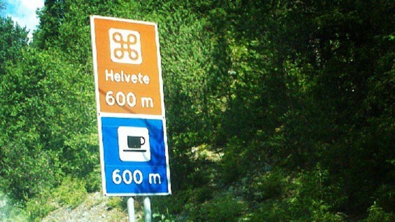 Helvete - eller Helvede - finder man flere steder i Norge.