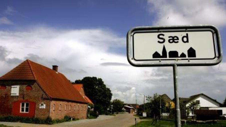 Den lille by Sæd i Sønderjylland.