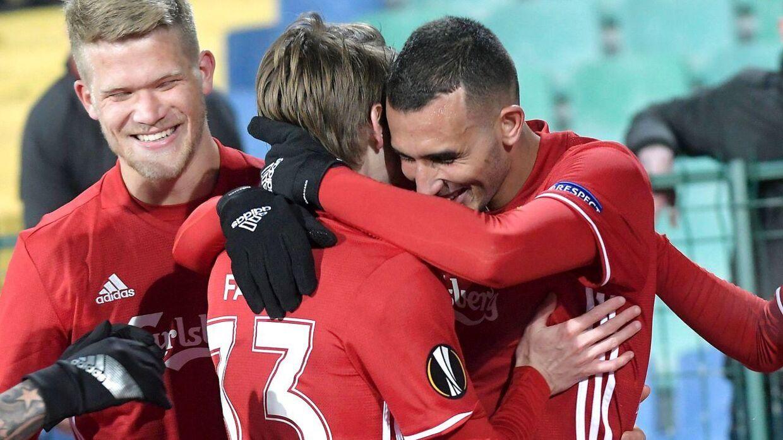 FCK vandt en flot sejr i Bulgarien.