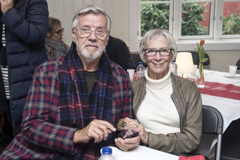 'Det må være mig og Lily fra uddelingen Ove Sprogøe prisen for et par år siden.'. Fot. Jens Nørgaard Larsen