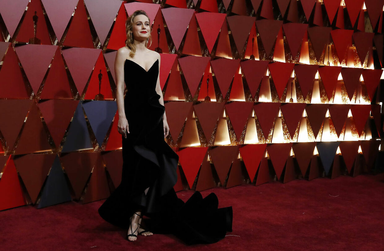 89th Academy Awards - Oscars Red Carpet Arrivals - Hollywood, California, U.S. - 26/02/17 - Brie Larson. REUTERS/Mario Anzuoni
