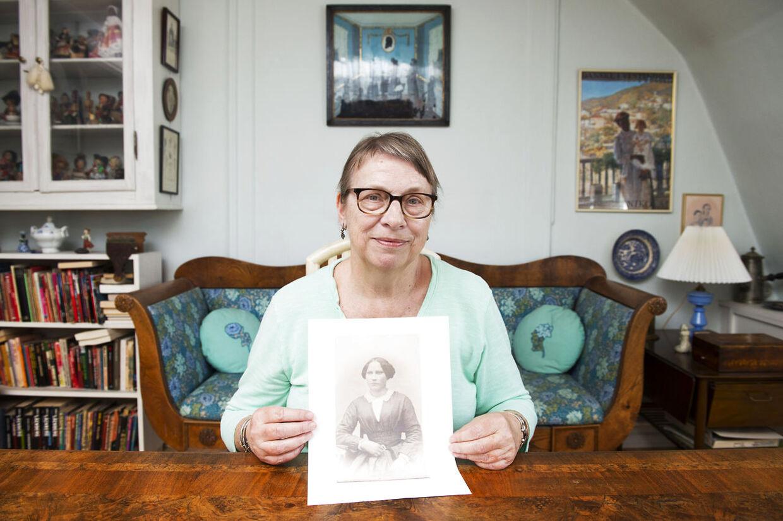 67-årige Anne Walbom har gennem mange år været formand for Dansk Vestindisk Forening og besøgt øerne utallige gange i jagten på sine rødder.