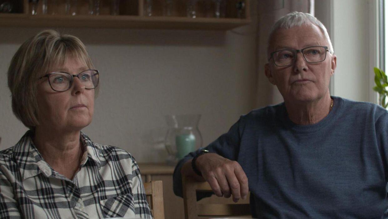 Den drabsdømte sygeplejerske Christina Hansens forældre Gitte og Henrik Hansen står for første gang siden dommen frem.