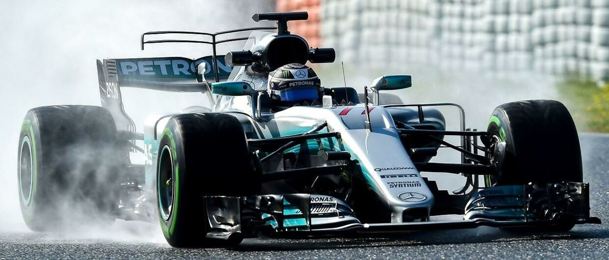 Valtteri Bottas tester for Mercedes