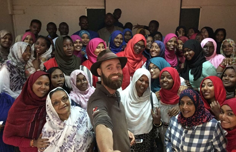 Land nr. 125 I Sudan på et privat universitet kun for kvinder. Sudan har en lang tradition for kvinders uddannelse.
