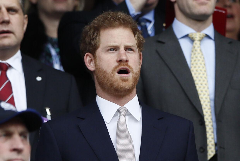 Prins Harry.