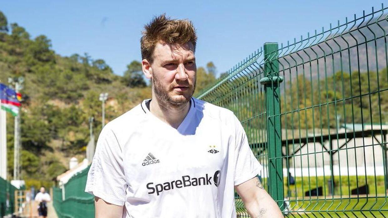 Nicklas Bendtner blev præsenteret som Rosenborg-spiller i sidste uge.