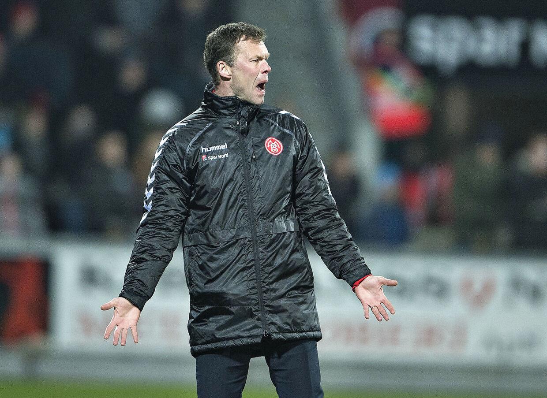 AaB's træner Morten Wieghorst.