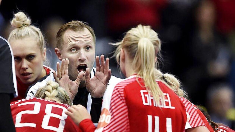 Klavs Bruun Jørgensen var ikke tilfreds med Goilden League-præstationen.