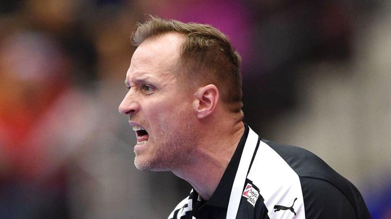 Klavs Bruun er ikke tilfreds med landsholdets niveau efter tre nederlag på fire dage