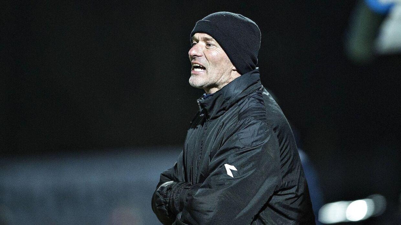 Erik Rasmussen måtte se sit Vendsyssel-mandskab lide nederlag til FC Helsingør.