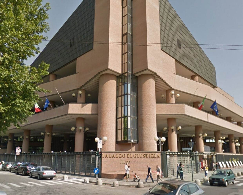 Retten i Torino hvor sagen var for retten
