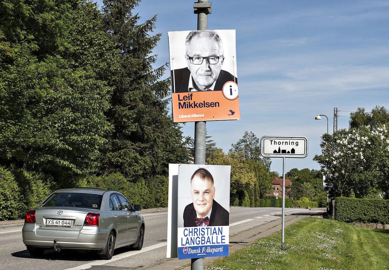 Det her virker: Den udskældte valgplakat er stadig et effektivt kampagneredskab.