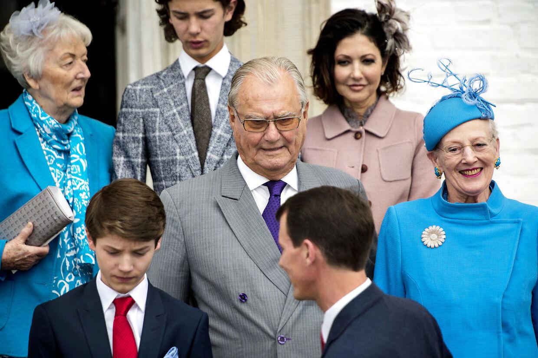 Prins Felix konfirmation Fredensborg Slotskirke Dronning Margrethe Prins Henrik