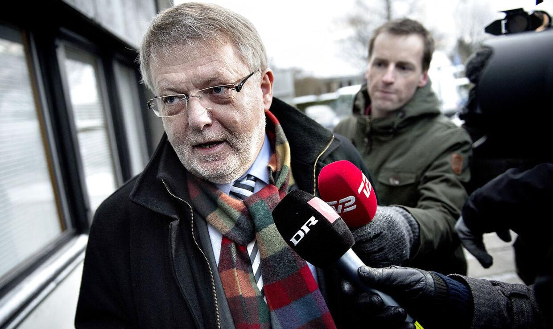 Erling Andersen, direktør i SKAT København, ankommer til Skattesagskommissionen i Søborg torsdag d. 13. december 2012. Nu stiller han op som kommunalpolitiker. (Foto: Keld Navntoft/Scanpix 2012)