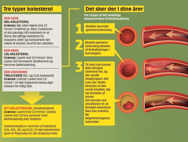 kolesterol medicin præparater