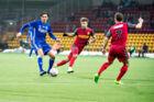 Emiliano Marcondes (midten) kan snart være tabt for dansk fodbold.