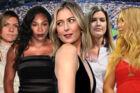 Maria Sharapova (midten) er ikke den mest populære kvindelige tennisspiller, hvis man spørger hendes kolleger