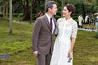Her ses kronprins Frederik med kronprinsesse Mary