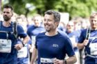Kronprins Frederik løber Royal Run i Aarhus, mandag den 21. maj 2018.