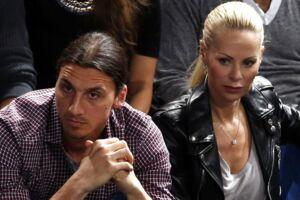 Zlatan Ibrahimovic danner par med Helena Seger.