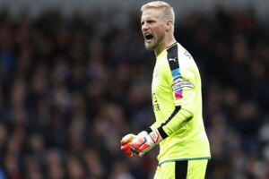 Leicester Citys danske målmand Kasper Schmeichel holdt endnu en gang nullet og kunne se Jamie Vardy score sejrsmålet.
