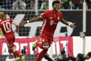 Bayern Münchens David Alaba scorede til 1-0, hvilket sendte mesterskabet til Bayern.