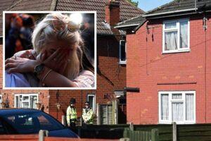 På billedet: Politiet forden Salman Abedi' bolig i Fallowfield i Manchester samt sørgende på gaden i Manchester.