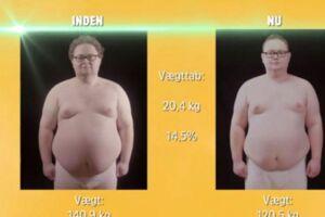 Henrik tabte flotte 20,4 kilo i 'Min fede træner'. (Foto: TV3)