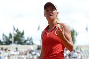 Caroline Wozniacki besejrede Jaimee Fourlis i French Open.