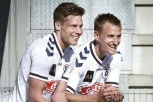Både Stephan Petersen og Danny Olsen er færdige i AGF.