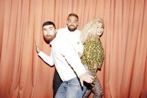 Tony Scott, Tue Blædel og Sara Bro er de nye værter på Go Morgen P3. Og det fungerer ikke så godt, hvis man skal tro en anmelder. Foto: Petra Kleis.