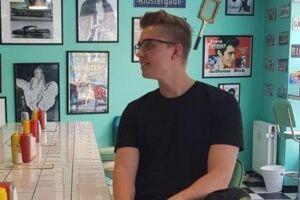Kristoffer er medejer af restauranten 'Bus Stop Diner' i Randers.