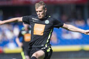 Superliga Fodbold 23.08.2015 - Randers - Viborg. Viborgs Jeroen Veldmate i action. (Foto: Claus Fisker/Scanpix 2015)