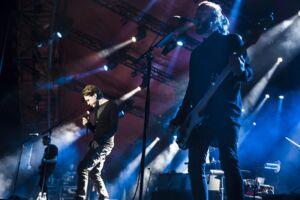Mew på Orange scene, Roskilde Festival 2015.