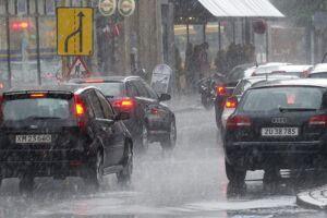 Danmark kan blive ramt af skybrud torsdag.