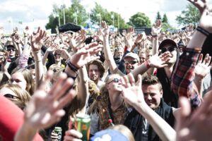 Foto fra Roskilde Festival.