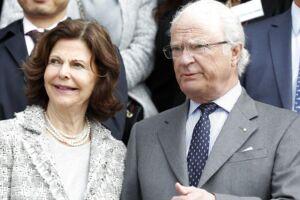 Carl Gustaf og dronning Silvia.